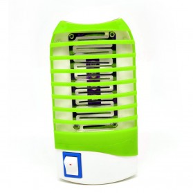 ISHOWTIENDA Mosquito Killer Night Lamp 4 LED - VT-888 - Green - 12