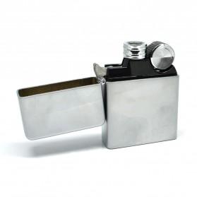 Korek Elektrik Besi G-Flame - Silver - 2