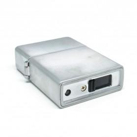 Korek Elektrik Besi G-Flame - Silver - 3