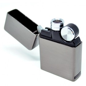 Korek Elektrik Besi G-Flame - Black - 3