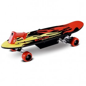 Electric Skateboards 150 Watt with Wireless Remote - FD24V-150D - Red/Black