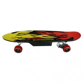 Electric Skateboards 150 Watt with Wireless Remote - FD24V-150D - Red/Black - 2