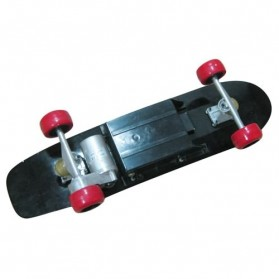 Electric Skateboards 150 Watt with Wireless Remote - FD24V-150D - Red/Black - 3