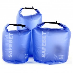 Safebet Floating Waterproof Bucket Dry Bag 10 Liter - Blue