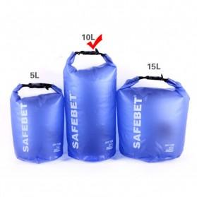 Safebet Floating Waterproof Bucket Dry Bag 15 Liter - Blue - 3