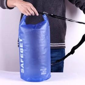 Safebet Floating Waterproof Bucket Dry Bag 15 Liter - Blue - 4