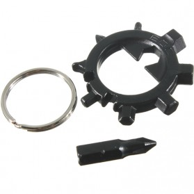 EDC Octopus 10-In-1 Multi Tool Bicycle Essential Tool Screwdriver - Black