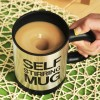 Others - Automatic Self Steering Coffee Cup - Silver