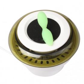 USB Powered Peace Grass Car Air Purifier - HHZ-0116 - White - 2