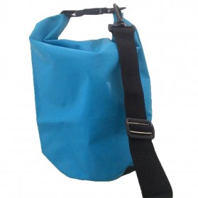 Safebag Outdoor Drifting Waterproof Bucket Dry Bag 5 Liter - Blue