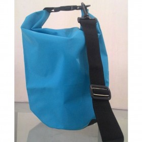 Safebag Outdoor Drifting Waterproof Bucket Dry Bag 10 Liter - Blue