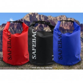 Safebag Outdoor Drifting Waterproof Bucket Dry Bag 10 Liter - Blue - 3