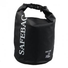 Safebag Outdoor Drifting Waterproof Bucket Dry Bag 15 Liter - Black - 2