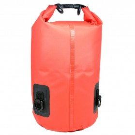 Safebag Outdoor Drifting Waterproof Bucket Dry Bag 15 Liter - Red