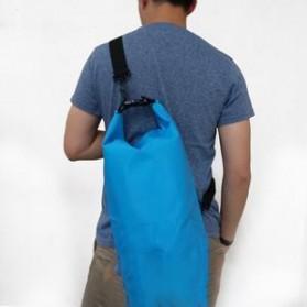 Safebag Outdoor Drifting Waterproof Bucket Dry Bag 15 Liter - Blue - 2