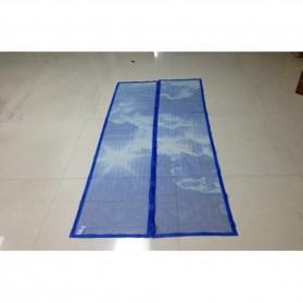Magnetic Door Screen / Pintu Magnet - Blue