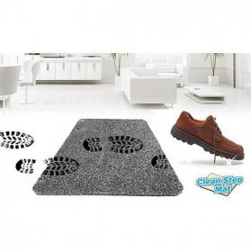 Keset Magic Clean Step Mat - Black