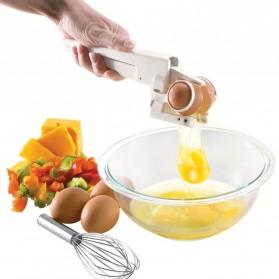EZCracker Handheld Egg Cracker Separator Pemecah Telur - White - 2