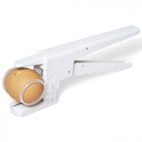 EZCracker Handheld Egg Cracker Separator Pemecah Telur - White - 5