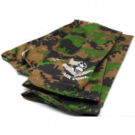 Hi Cool Arm UV Protection Cover / Sarung Pelindung Lengan - Army Green - 2