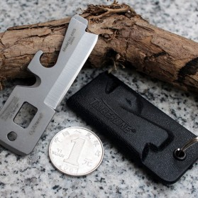 Timberline Pisau Lipat Multifungsi Hidden Portable Knife Survival Tool EDC - A4905 - Black