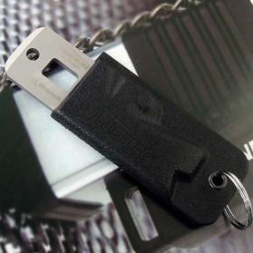 Timberline Pisau Lipat Multifungsi Hidden Portable Knife Survival Tool EDC - A4905 - Black - 4