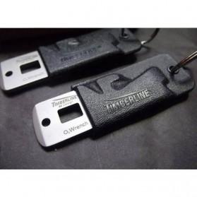 Timberline Pisau Lipat Multifungsi Hidden Portable Knife Survival Tool EDC - A4905 - Black - 5