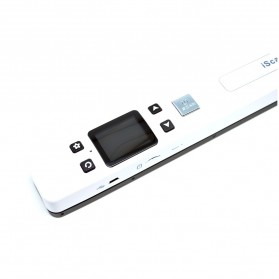 Portable Full Color Scanner 1050DPI with LCD Screen - iScan02 - White - 2