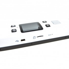 Portable Full Color Scanner 1050DPI with LCD Screen - iScan02 - White - 3