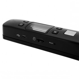 Portable Full Color Scanner 1050DPI with LCD Screen - iScan02 - White - 4