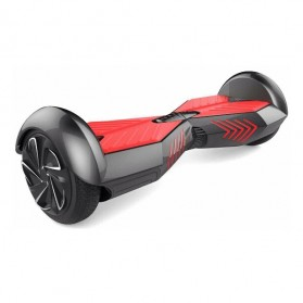 Hoverboard Swing Car Smart Endurance Electric Unicycle Scooter 2nd Gen 6.5 Inch - Black/Red
