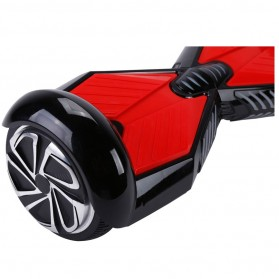Hoverboard Swing Car Smart Endurance Electric Unicycle Scooter 2nd Gen 6.5 Inch - Black/Red - 7