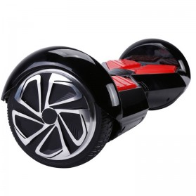 Hoverboard Swing Car Smart Endurance Electric Unicycle Scooter 2nd Gen 6.5 Inch - Black/Red - 8