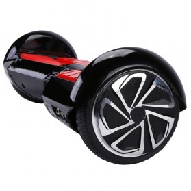Hoverboard Swing Car Smart Endurance Electric Unicycle Scooter 2nd Gen 6.5 Inch - Black/Red - 9
