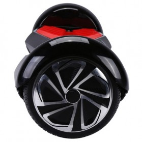 Hoverboard Swing Car Smart Endurance Electric Unicycle Scooter 2nd Gen 6.5 Inch - Black/Red - 10