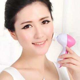 Biutte.co Pembersih Muka Elektrik Lumispa Facial Care 5 in 1 - AE-8782 - White