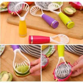 Fruit Pulp Slicer Splitter Peeler Cutter / Pengupas Buah - Orange