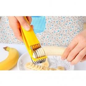 Banana Cutter / Pemotong Pisang - Yellow - 2