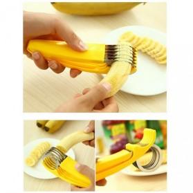 Banana Cutter / Pemotong Pisang - Yellow - 5