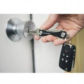 Keysmart Swiss Army Style Keychain Organizer and Holders -  ST2678 - Black - 3