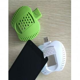 Lampu Tidur Anti Nyamuk LED bentuk Apel - Green - 3
