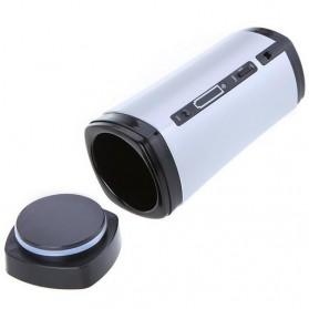 Luxury USB Auto Stirring and Warming Coffee Cup 130ml / Teko Elektrik - U805 - Silver - 5