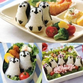 Penguin Onigiri Ball Sushi Tool Set Roll Making Kit
