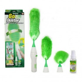 GoDust Electric Home Duster Powered By AAA Battery / Kemoceng Elektrik - 2