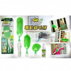 GoDust Electric Home Duster Powered By AAA Battery / Kemoceng Elektrik - 6