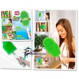 GoDust Electric Home Duster Powered By AAA Battery / Kemoceng Elektrik - 7