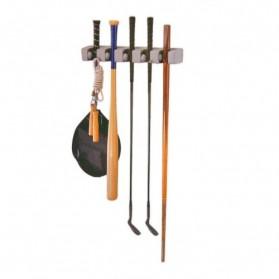 Magic Broom and Mop Holder / Gantungan Sapu dan Kain Pel - Gray - 6