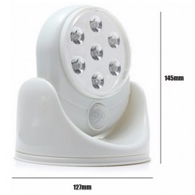 Lampu LED Light Angel Motion Activated - White - 8
