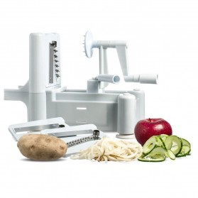 Spiral Vegetable Slicer Machine / Mesin Pengupas Spiral Sayuran - White - 2