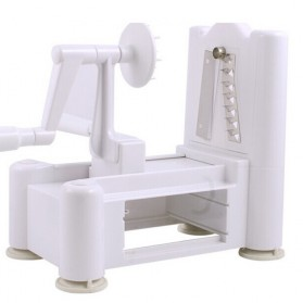 Spiral Vegetable Slicer Machine / Mesin Pengupas Spiral Sayuran - White - 5
